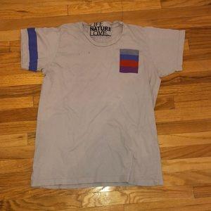 Freecity grey t shirt size medium